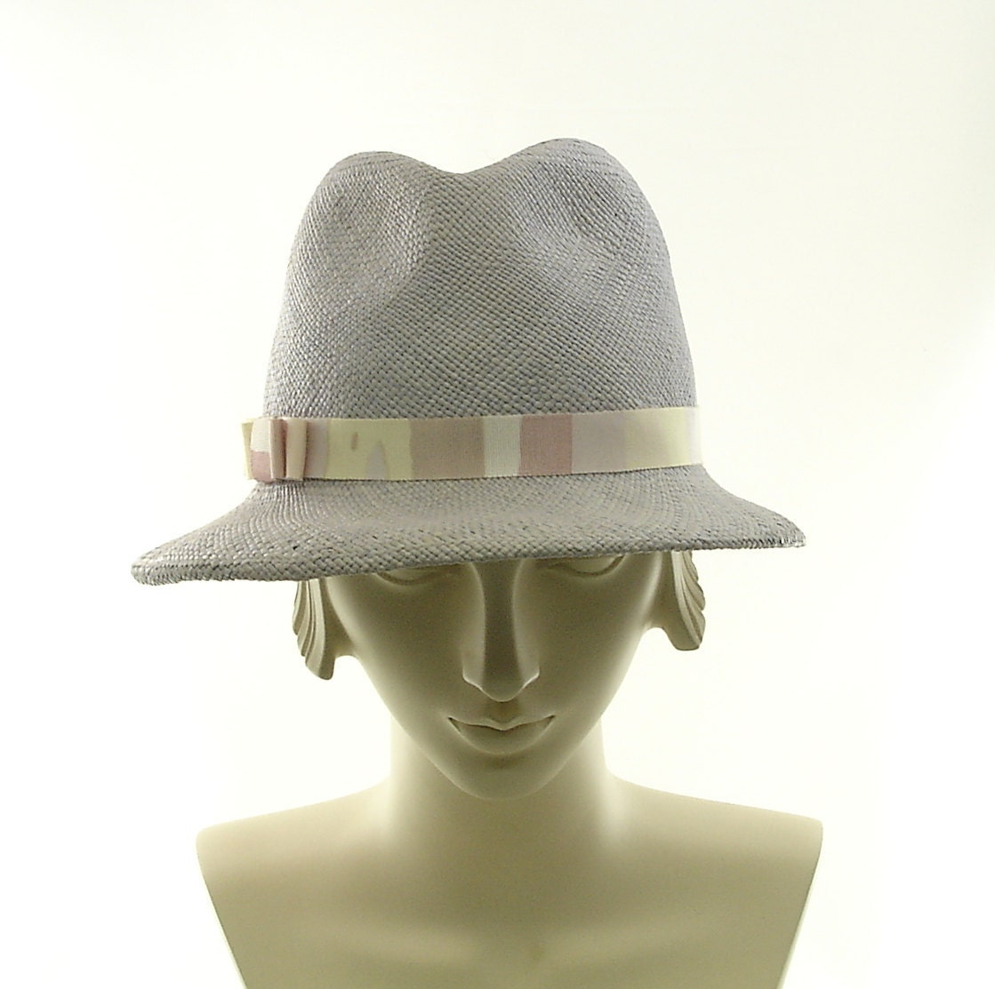 light blue straw fedora hat for panama straw sun hat