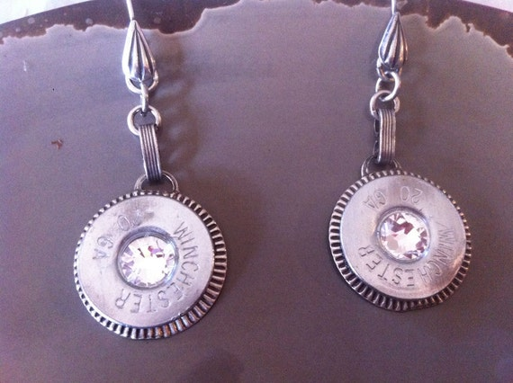 Swarovski Crystals Rodeo Queen Bling Earrings