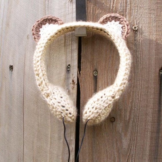Custom Crocheted Headphones