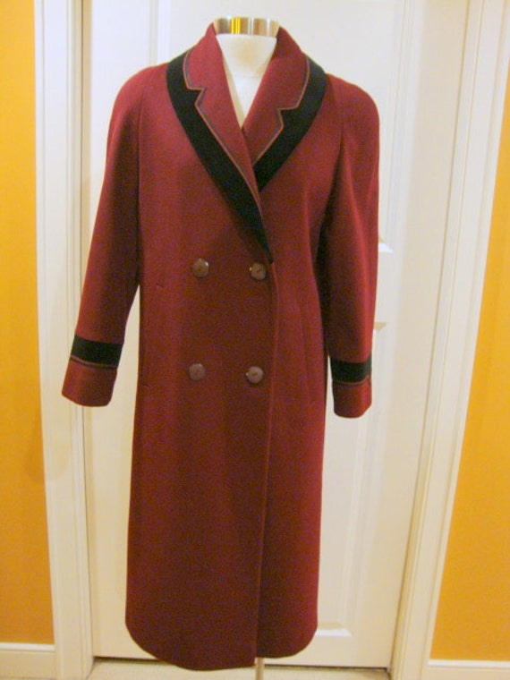 Vintage Wool Coat  by Alorna