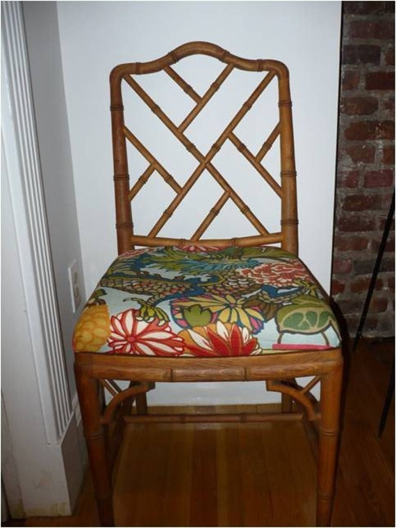 Bamboo Chinese Chippendale Chairs Faux Bamboo Chippendale Chair