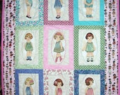 Paper Dolls Quilt Kit - Fabric by Windham