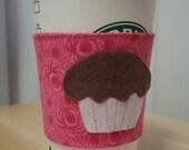 Cupcake Coffee Sleeve