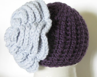 Crochet Newborn Photo Prop, Crochet Baby Girl Hat, Holidays, Christmas