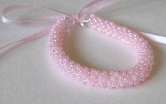 Newborn Jewelry Photography Prop Crochet  Bracelet Gift newborn bracelet baby girl outfit