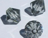 Swarovski crystal beads BICONE 5328 Crystal Beads BLACK DIAMOND -- Available in 3mm, 4mm, 5mm, 6mm and 8mm