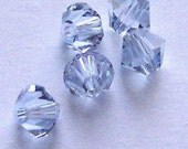 Clearance -- Swarovski Crystal Beads 6mm BICONE 5328 crystal beads PROVENCE LAVENDER -- 24 pieces
