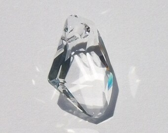 19mm Swarovski Crystal Pendant 19mm GALACTIC Pendant 6656 Crystal Beads CLEAR