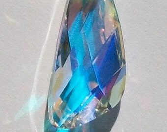 1 Swarovski Pendant Bead 23mm crystal WING Pendant Style 6690 CRYSTAL AB