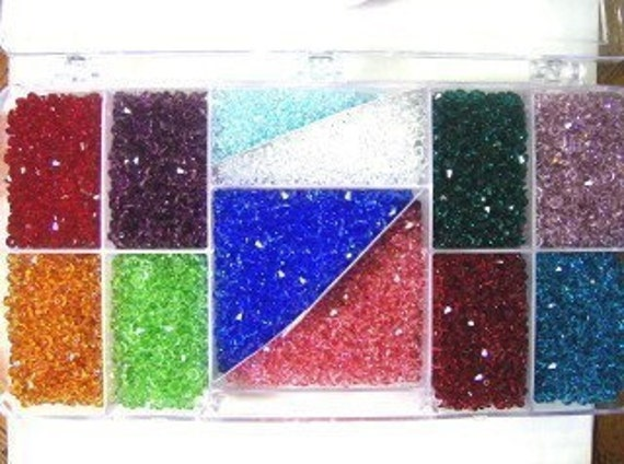 480 Swarovski crystal beads 4mm BICONE 5328 Crystal Beads YOU DECIDE choice listing