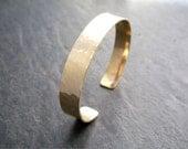 Hand Forged Elegant Cuff Bracelet