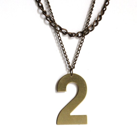 Lucky Number Necklace - No. 2