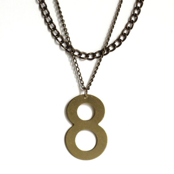 Lucky Number Necklace - No. 8