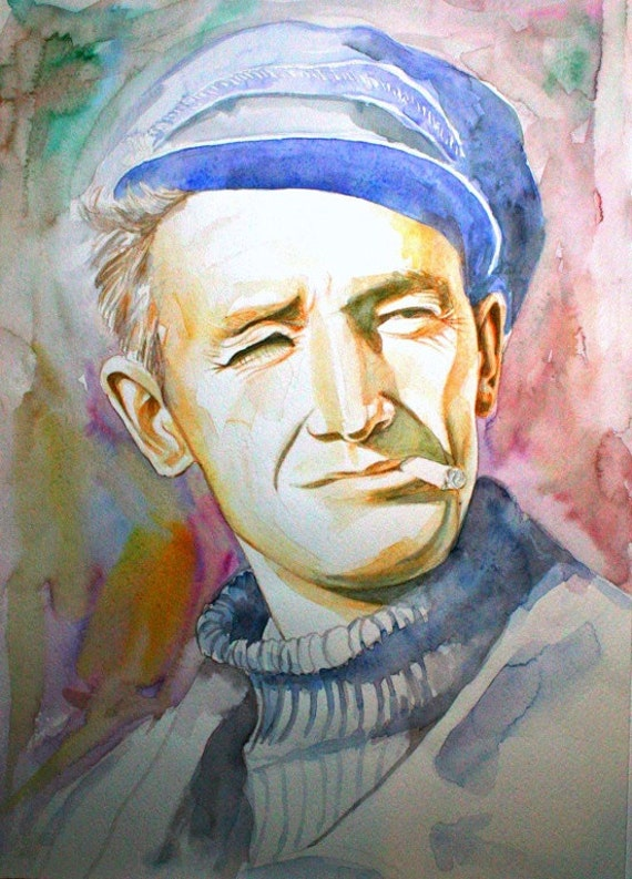 Woody Guthrie Drawings Woody Guthrie Art Watercolor