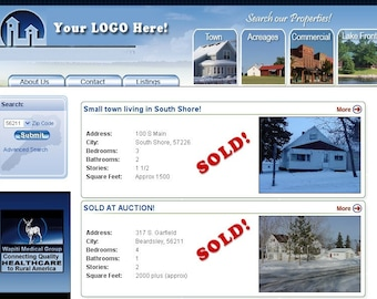 Real Estate Website - Customized just for you - Sell more Houses