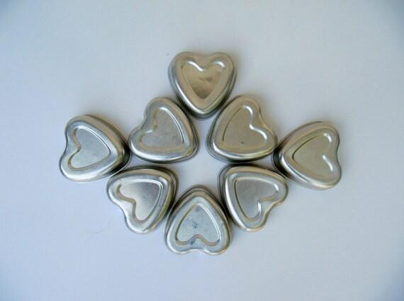 Aluminum Hearts Mini Baking Pans