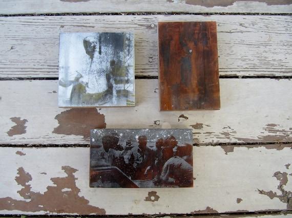Printing Press Photography Blocks