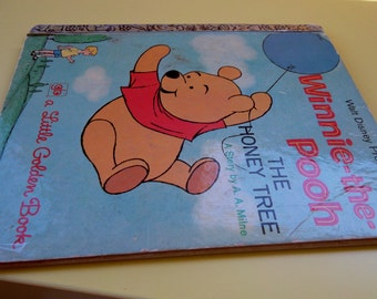 Vintage Hardcover Winnie The Pooh and the Honey Tree 1971 A.A. Milne D1116