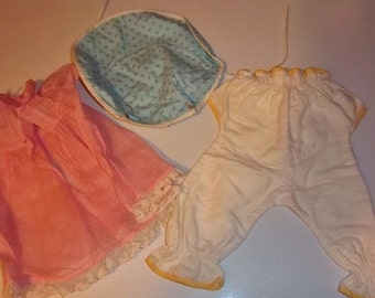 Antique Handmade Doll Clothes 1940s