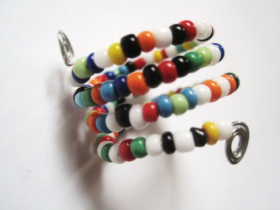 """Ring for fingers or toes - Beaded - Adjustable -""""I Am Goodnight"""" - Best Seller"""