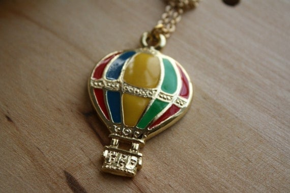 The Whimsical Air Balloon Necklace
