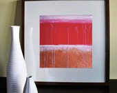 SALE - Red and Gold Dream, open edition print