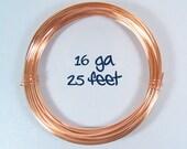 16ga 25ft Copper Wire