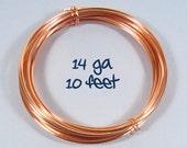 14ga 10ft - Copper Wire