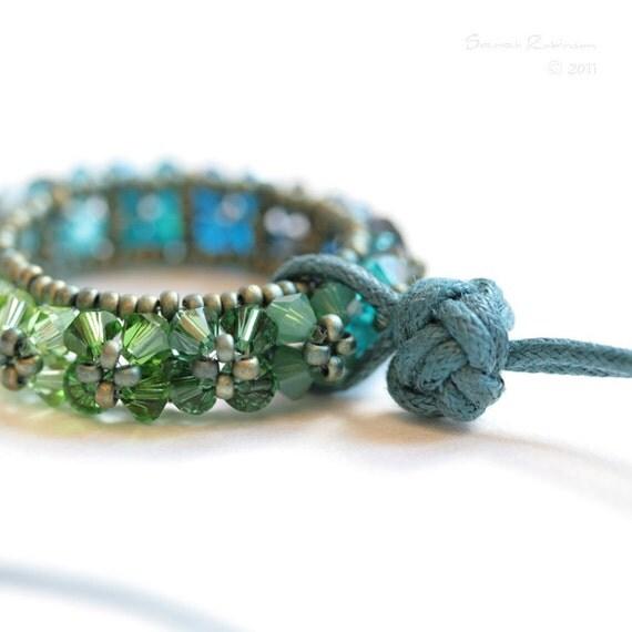 Big Teal Rosco Pendant. Green and Aqua Blue too.