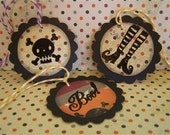 Bewitchingly Cute Halloween Tags- Set of 6