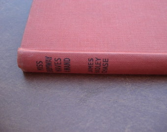 Vintage 1950s Book Miss Shumway Waves a Wand  By James Hadley Chase
