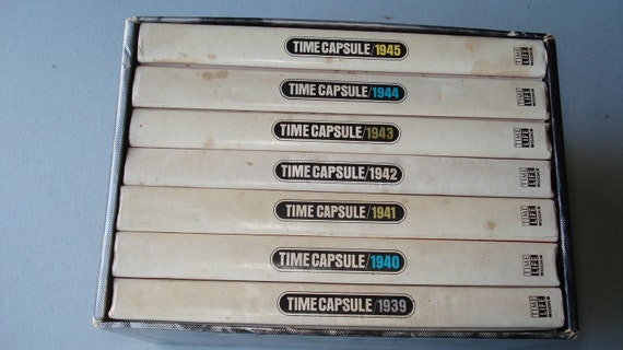 Time Life Books Time Capsual of World War II