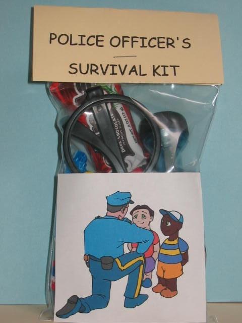 police officer u0026 39 s survival kit kids