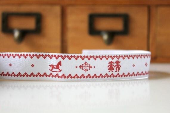 Christmas Themed Fabric Tape