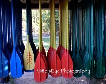 Paddle line