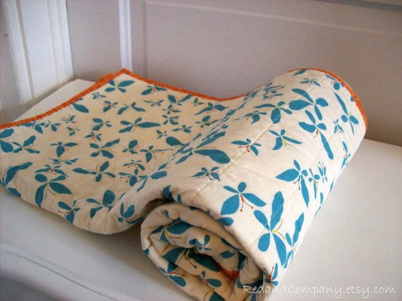 CHRYSALIS Baby Quilt