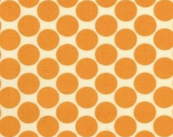 1 yard - Full Moon Dot in Tangerine, Amy Butler