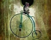Monkey Bike 1 (print)