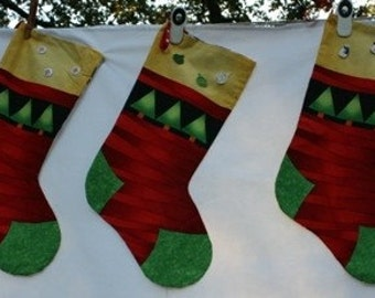 Funky Christmas Stocking