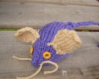 Crinkle Mouse Cat Toy