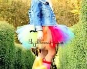Rainbow Tutu, Christmas, Rainbow Candy Cane, Halloween Costume