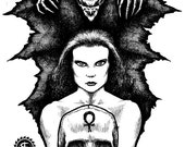 Endorphins Original Vampire Drawing
