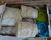 Small Flat Rate Box of Mixed Lace