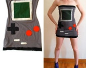 Gameboy Tube Dress xs s m L xl