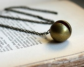 Vintage Locket Necklace. Have a Ball