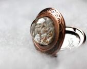 Vintage Locket Necklace. Snow Days