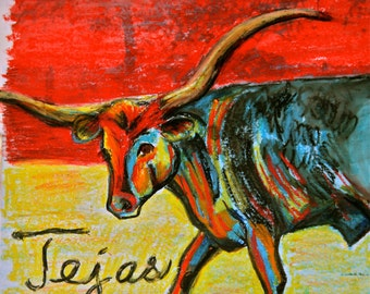 Tejas the Texas Longhorn
