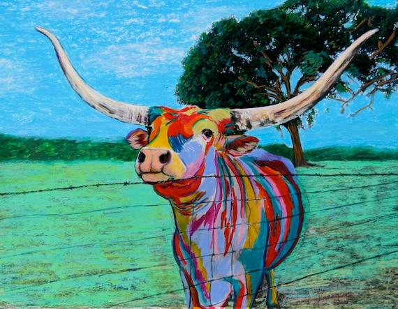 Mesquite Joe II the Texas Longhorn