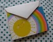 Sunshine Eighties Notecards, vintage 1981, qty 10