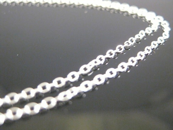 16 inch Sterling Silver 1mm Chain